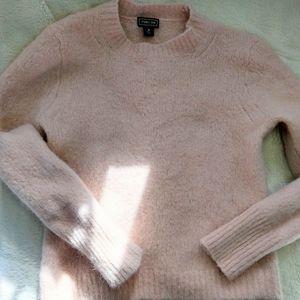 J.Crew Cozy Pink Alpaca Blend Sweater Pink